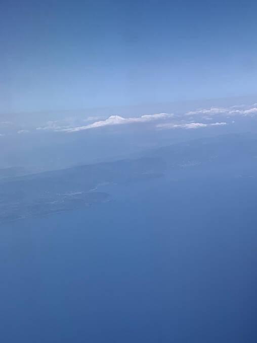 富士山の頭 (拡大)