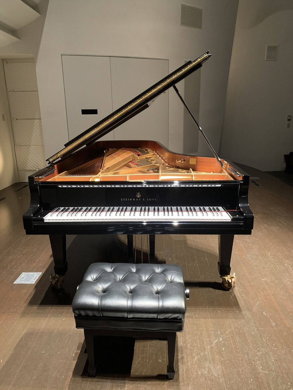 宗次ホールのピアノ様、2年ぶりに会えた!